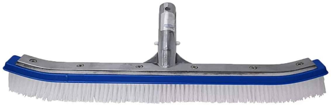 18inch Herramientas curva Piscina cepillos de limpieza de la pared de la herramienta de limpieza piscina escoba algas Remover herramientas de uso doméstico
