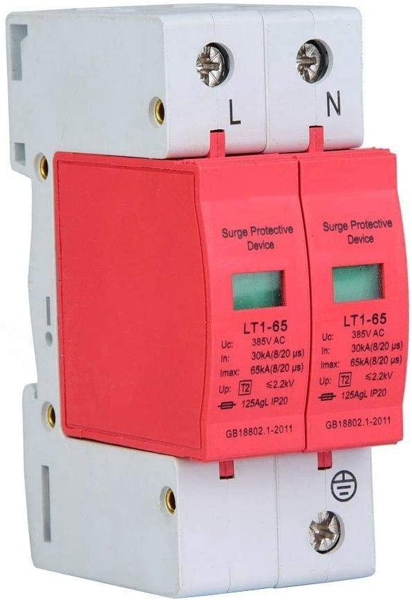 2P80KA Dispositivo de Protección Contra Sobretensiones,Pararrayos de Sobretensión para el Hogar