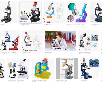 Los mejores microscopios para niños