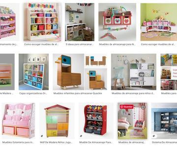 Los mejores muebles de almacenamiento para niños