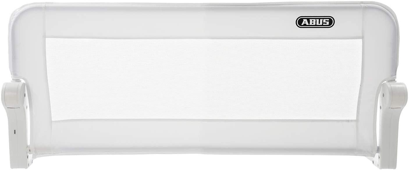 Abus Eric - Barrera para cama, 100 o 150 cm de ancho Blanco Talla:100 cm