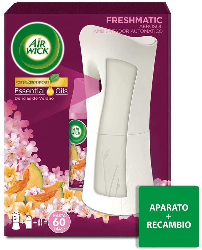 Air Wick Ambientador Freshmatic Completo Delicias de Verano