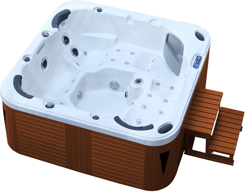 American Whirlpool Outdoor 215x 215. Exterior Whirlpool 5personas