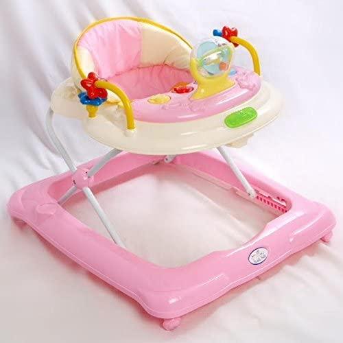 Andador para bebé, diseño estrella Rosa. Andador de actividades o tacatá