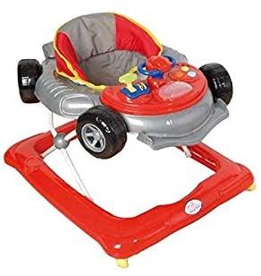 Andador para bebé, diseño fórmula 1 gris. Andador de actividades o tacatá