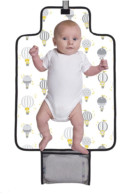 Baby Polar Gear - Cambiador plegable con diseño de globos