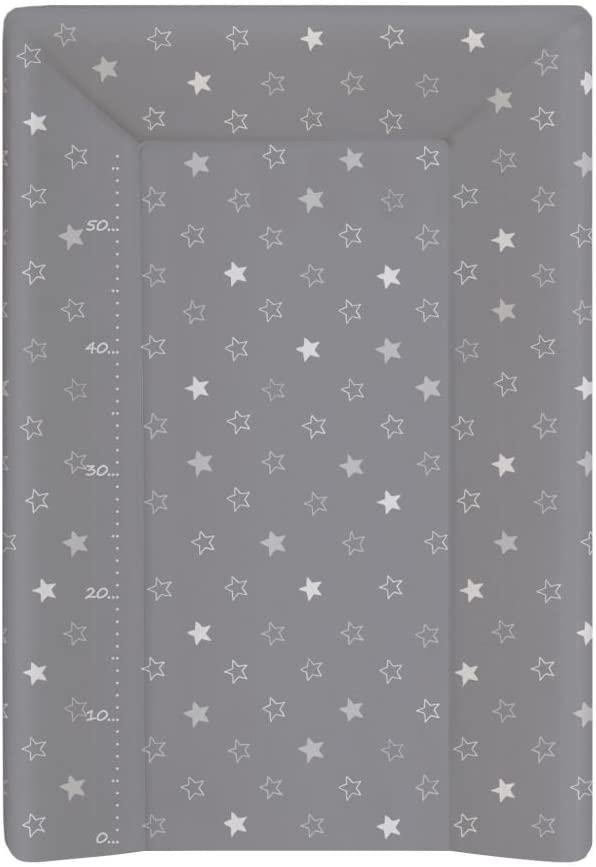 Babycalin - Colchón cambiador Luxe Etoile de color beige, 50x 70cm–con un metro impreso Fonce Talla:Norme