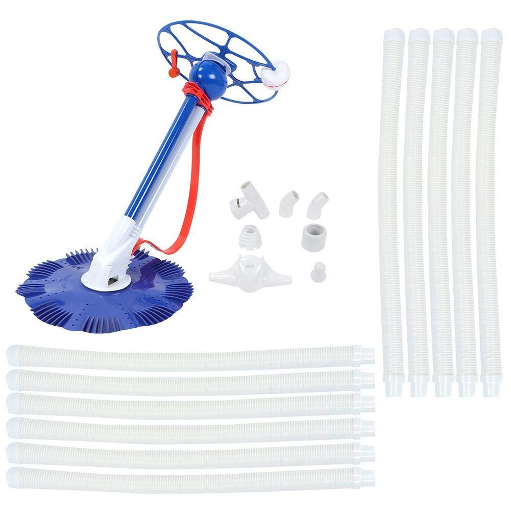 Barredora de piscina, aspiradora de piscina Barredora de aspiradora de piscina, elimina automáticamente varias partículas de contaminación de piscina