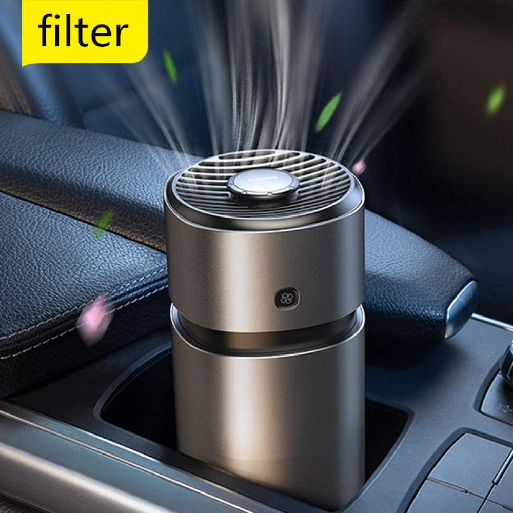 BBBB Ambientador de Aire de aromaterapia de Metal Base para Aroma de automóvil Auto Refrescante de Perfume para automóvil Difusor de Fragancia Purificador de Aire de Crema Fresca