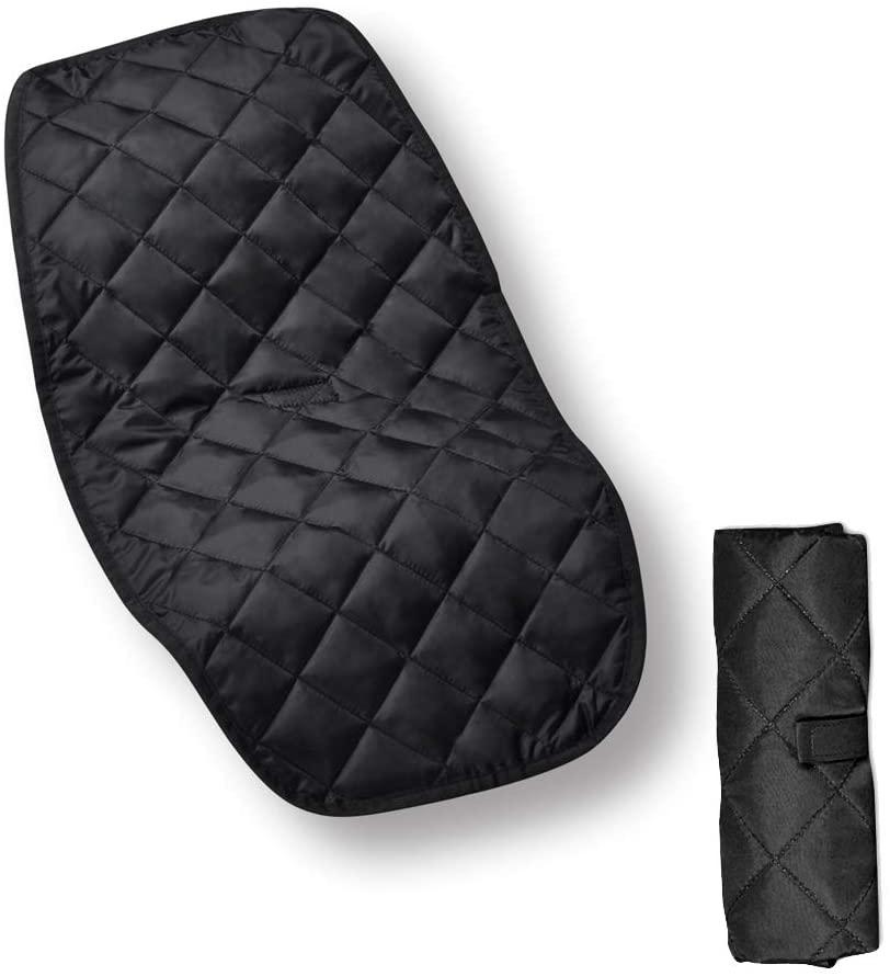 Bebamour - Cambiador portátil para bebé, color negro