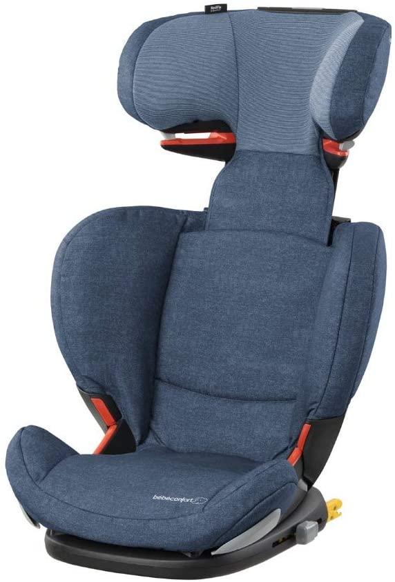 Bébé Confort RODIFIX AirProtect, Silla de auto para niño con ISOFIX, R44/04, reclinable, segura y ligera, desde los 3.5 hasta los 12 años, 15-36 kg, gr.2/3, Nomad Blue (azul)