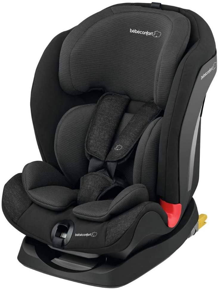 Bébé Confort Titán - Silla de Auto, Grupo 1/2/3, 9-36 Kg, Convertible, Reclinable, Isofix, 9 meses-12 años, color Negro