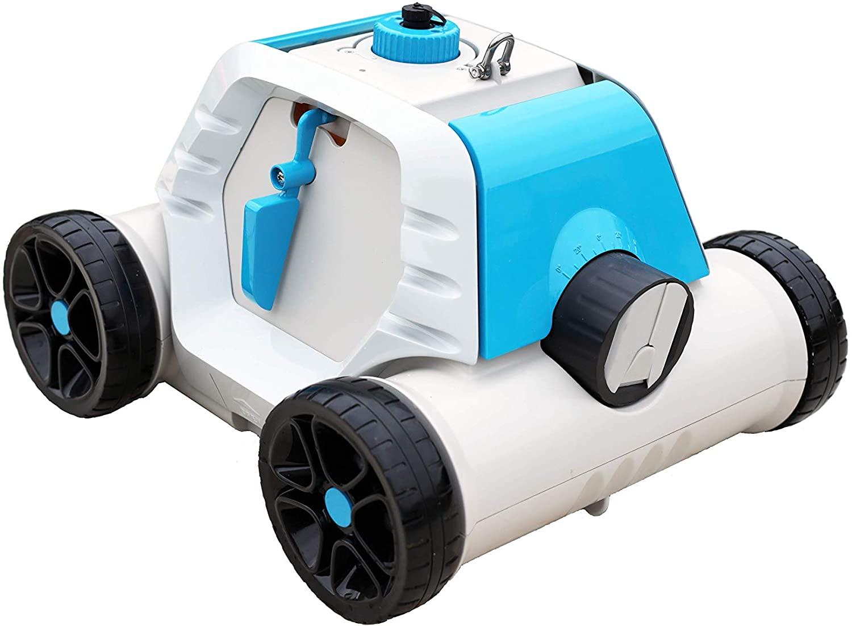 Bestway Thetys - Robot eléctrico autónomo de Piscina, con batería Recargable, para Piscinas de Fondo Plano