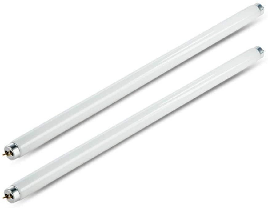 Bombillas de 8 W para matamoscas T5, tubo UV, 2 unidades de repuesto para matamoscas eléctrico, lámpara UV T5, tubo de luz UV para matamoscas de 16 vatios, lámpara electrónica de tubo de luz UV para