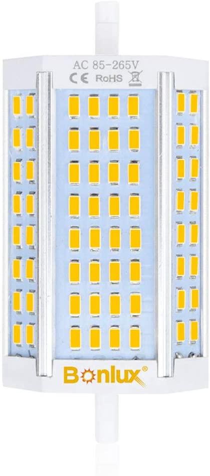 Bonlux Regulable 30W R7s J118 118mm Led Bombilla con 3000 Lúmenes para Lámpara de pie, Reemplazo de 300W Hálogena Bombilla (Luz Fría 6000K) [Clase de eficiencia energética A+]