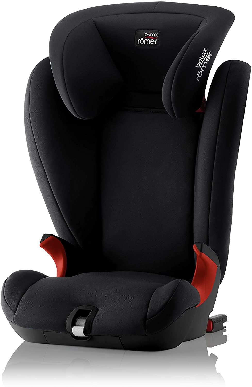 Britax Römer silla de coche 15 - 36 kg (≈ 3,5 - 12 años), KIDFIX SL, isofix, grupo 2/3, Cosmos Black