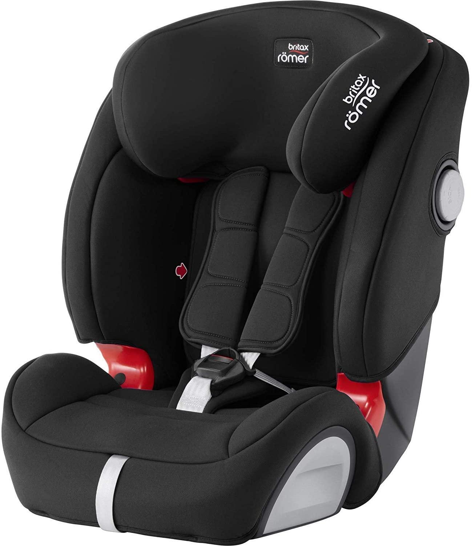 Britax Römer silla de coche 9-36 kg (≈ 9 meses - 12 años), EVOLVA 123 SL SICT, isofix, grupo 1/2/3, Cosmos Black
