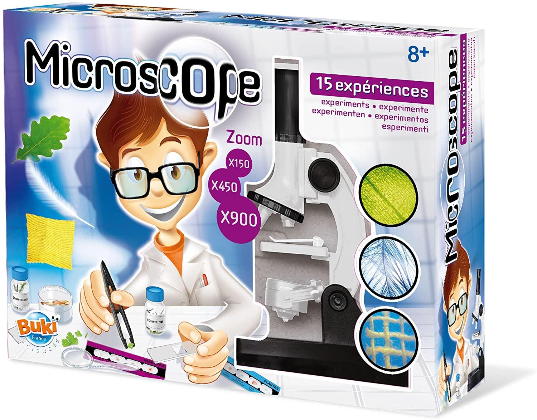 BUKI KT007EU - Microscopio 15 experimentos