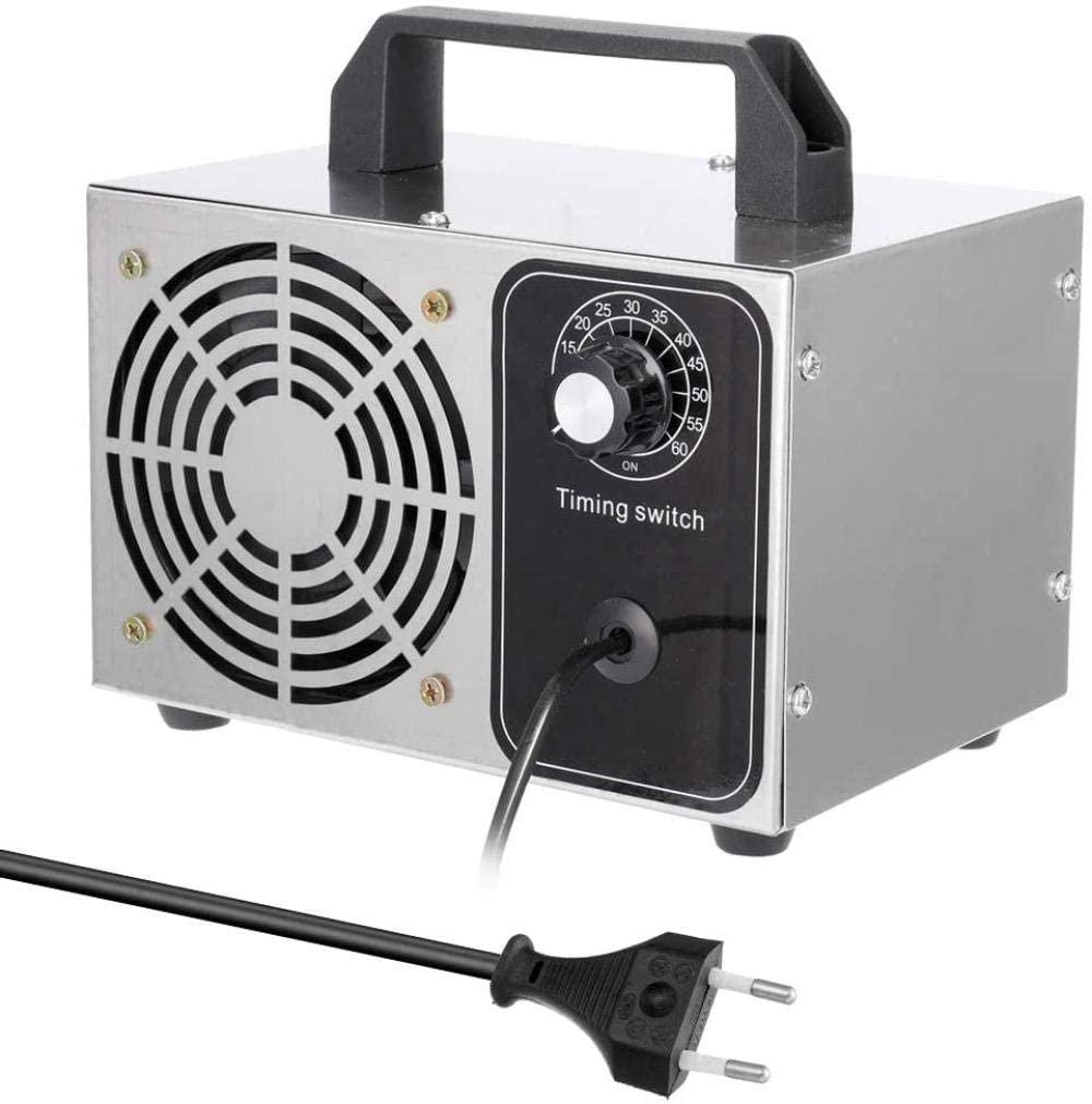 buyaolian Máquina De Ozono Generador De Ozono Profesional 24 G/H 220 V Generador De Ozono Portátil Máquina De Desinfección Filtro De Aire Purificador De Aire Ventilador para El Hogar Auto Esteriliza