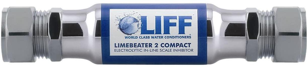 BWT LBC2–22V2verde lima redonda de compresión electrolíticos inhibidor de escala, acabado cromado
