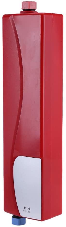 Calentador eléctrico instantáneo, mini calentador automático, calentador de agua, 3000 W, calentador de agua eléctrico, calentador de agua portátil, caliente instantáneo para cocina o baño