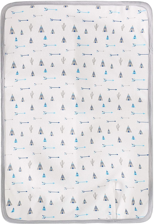 Cambiador de pañales impermeable y antideslizante para bebé, 38 x 53.5 cm