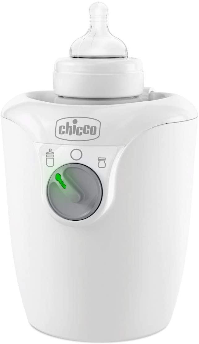 Chicco - Calienta biberón de casa rápido y calentamiento gradual