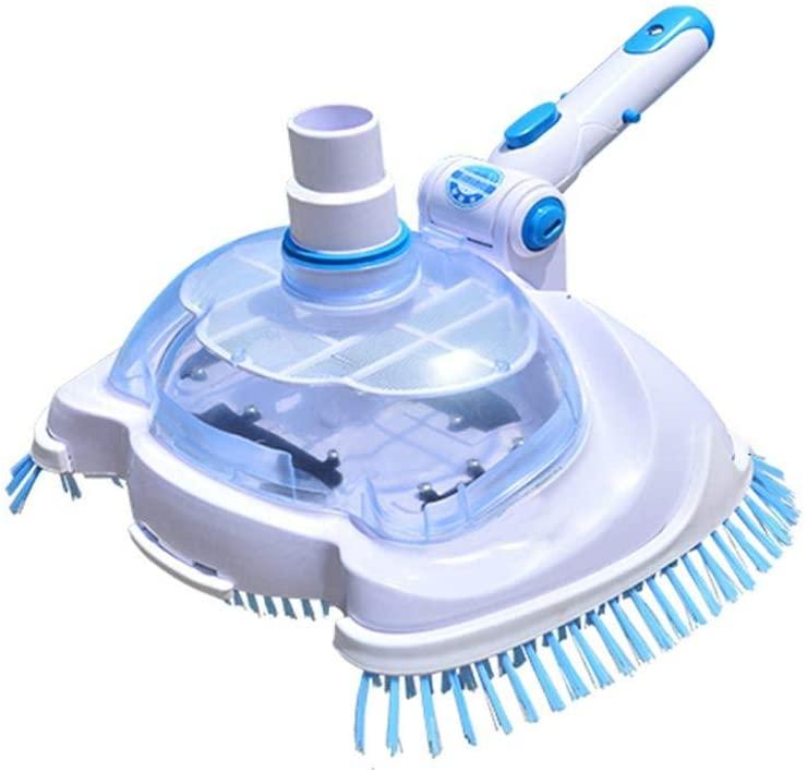 ckground Pool & SPA Vacuum Head Vinyl Liner Vacuum Herramientas de Limpieza y Mantenimiento manuales para Limpiar escombros de los Pisos de Piscinas