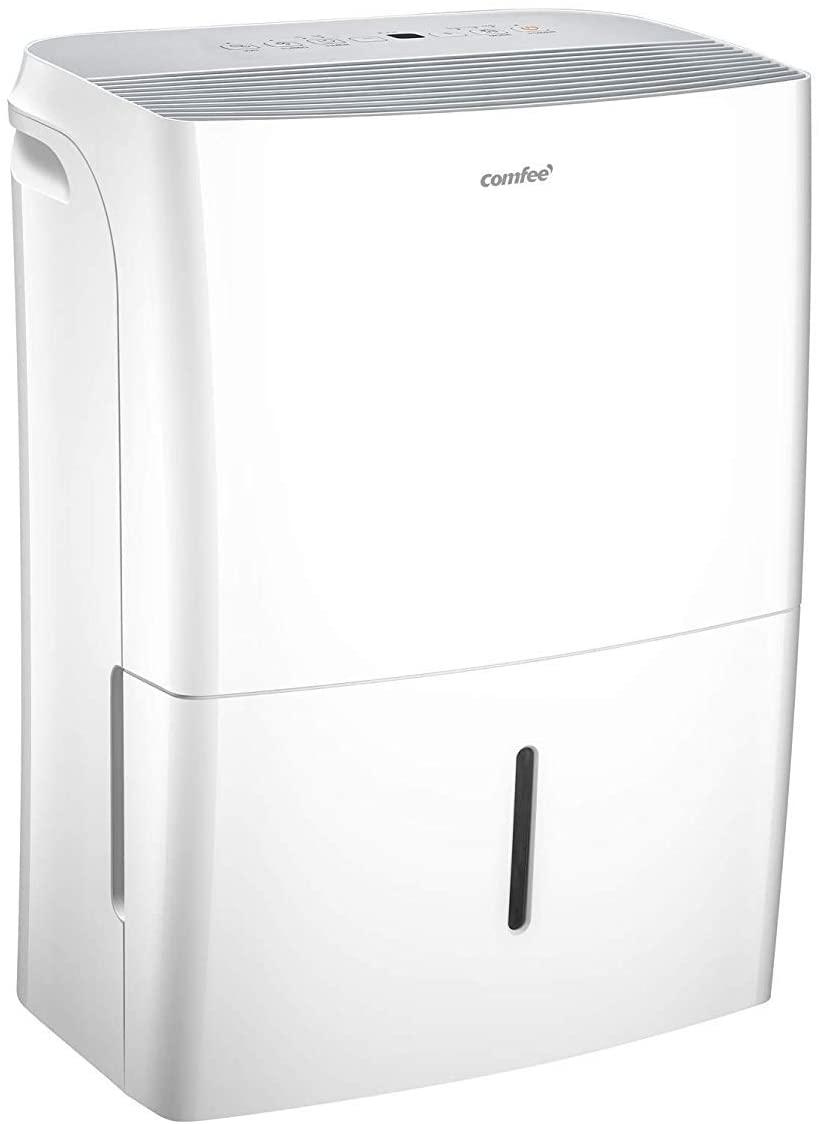 Comfee MDDF-16DEN7-WF Deshumidificador, 230 V, Color blanco, 16L-32m²-DEN7