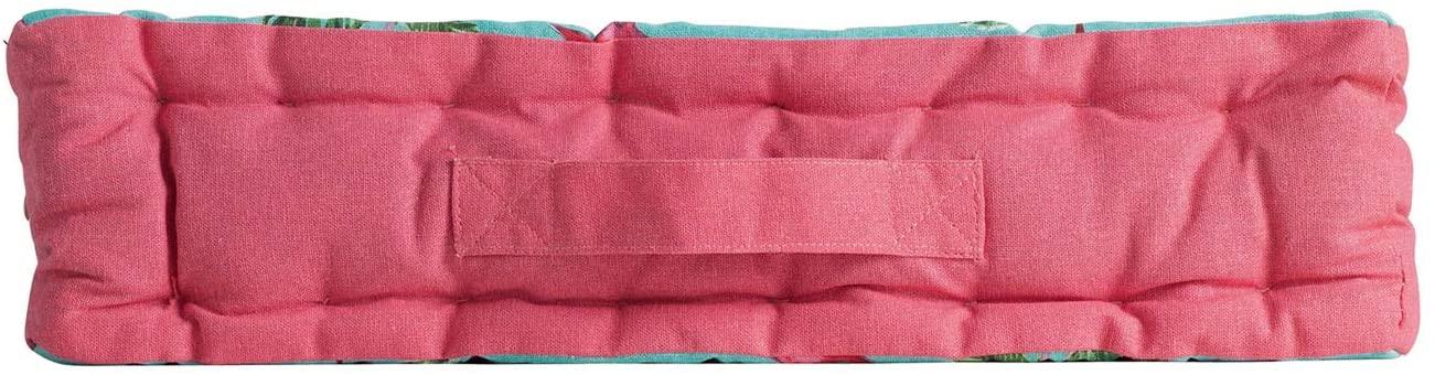 COTON d'intérieur Cojín de Suelo 45x 45x 10cm, algodón Imprime zootica