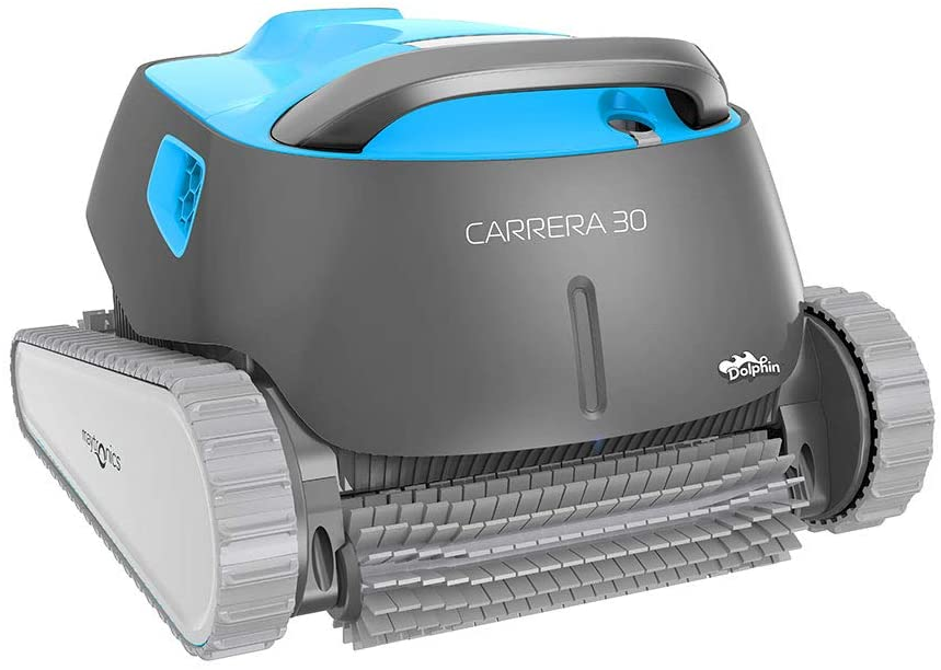 Dolphin Carrera 30 - Robot limpiafondos para piscinas (fondo,paredes y línea de flotación)