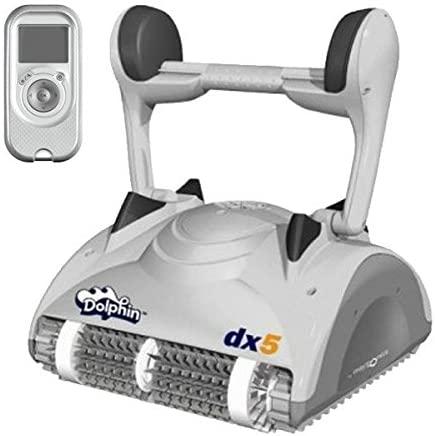 Dolphin DX5 - Robot automático limpiafondos para piscinas (fondo y paredes) sistema de navegación preciso Clever clean