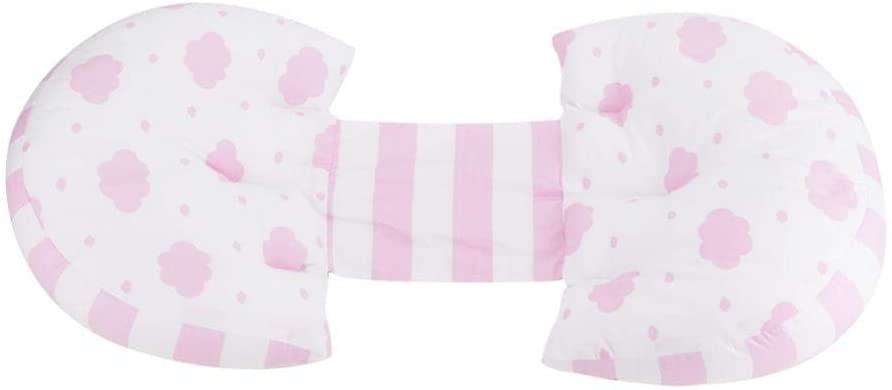 Embarazo Almohada Cintura Volver Soporte para el vientre Cojín multifuncional en forma de U Cómoda almohada de maternidad(3#)