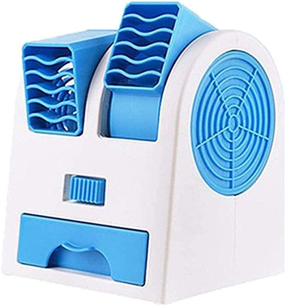 Enfriadores de Aire portátiles de Espacio Personal Ventilador 3 en 1 Ventilador sin Hojas USB Mini purificador de humidificador de Aire Acondicionado para el hogar Dormitorio Oficina al Aire Libre