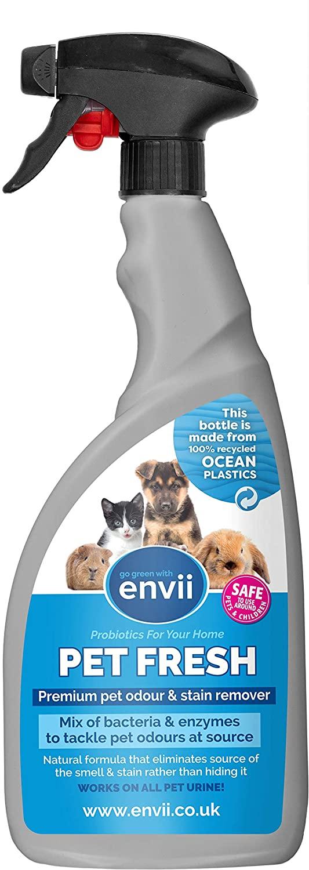 Envii Pet Fresh – Elimina Malos Olores y Manchas Del Orina de Mascotas – 750ml