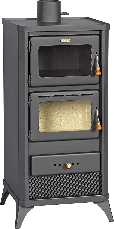 Estufa de leña para horno, estufa de cocina, chimenea de 12 kW Prity FME [Clase de eficiencia energética A]
