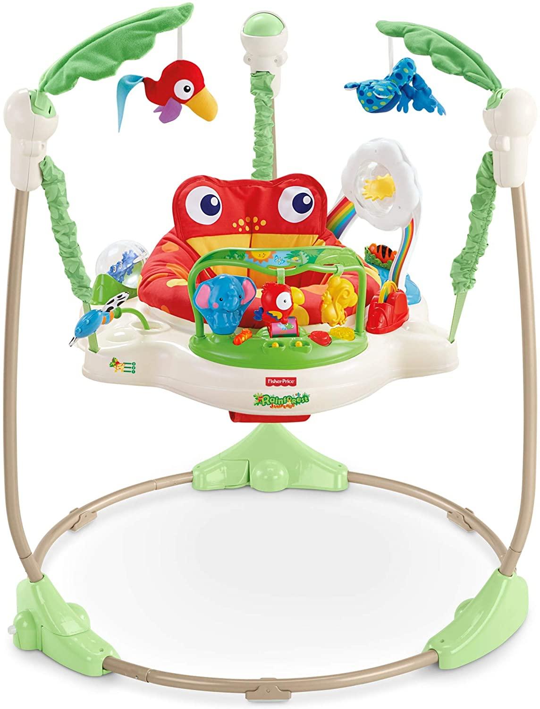 Fisher-Price Saltador animalitos de la selva, para bebé +1 año (Mattel CHM91)