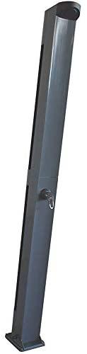 Fluidra Ducha Solar einstiegs de Pool Escalera, Acero Inoxidable, 4Niveles, Plata/Gris, 213x 16,6x 14,5cm, m00493