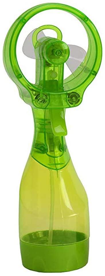 Forart Deluxe Misting Fan- Ventilador de nebulización de Agua de Mano, Ventilador a batería, Ventilador de pulverización de Agua, Mini Ventilador de Escritorio portátil