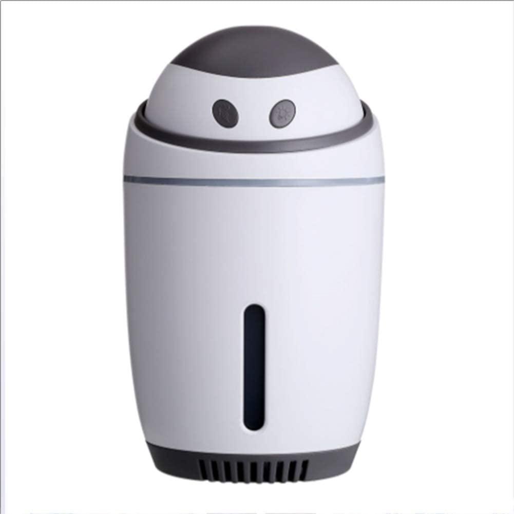 HAOYUMEI USB humidificador Mini portátil de luz de la Noche silenciosa sin Agua de Apagado automático purificadores de Aire para el Dormitorio Principal,Latón