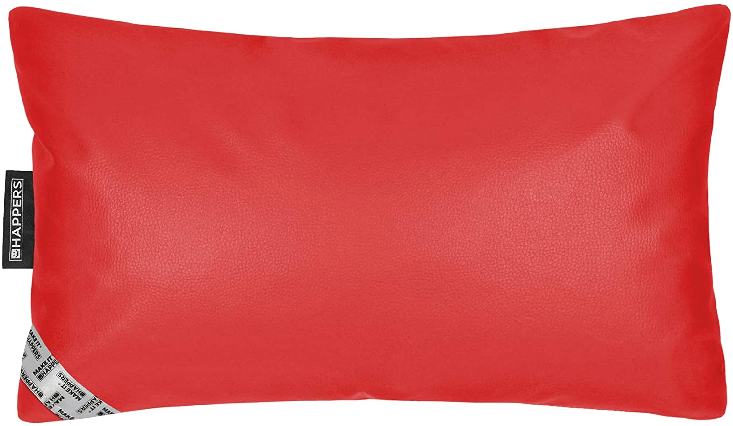 HAPPERS Cojin 50x30 Polipiel Outdoor Rojo