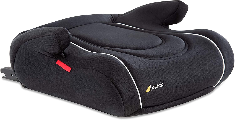 Hauck Booster Comfort Fix – Elevador de asiento con Isofix, silla de auto para niños desde 15 kg - 36 kg, Grupo 2/3, ECE 44/04, Negro