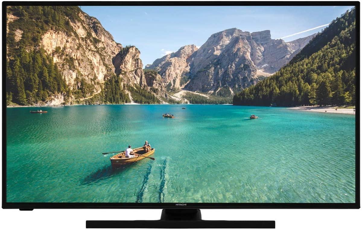 HITACHI 32HE2100 TELEVISOR 32'' LCD Direct LED HD Ready Smart TV 400Hz HDMI USB Grabador Y Reproductor Multimedia [Clase de eficiencia energética A+]