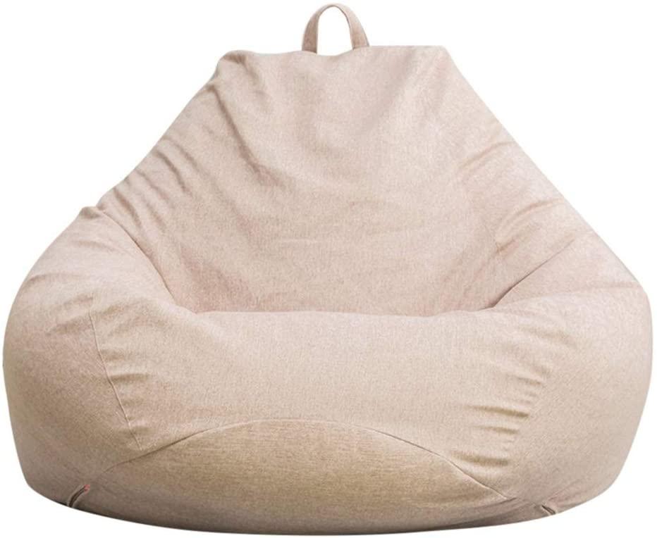 Holama Puf Clásico, Puffs Puffs para Salón Funda Elegante Cojín De Asiento Puf Sofá Cojín De Suelo para Uso Interior Y Exterior