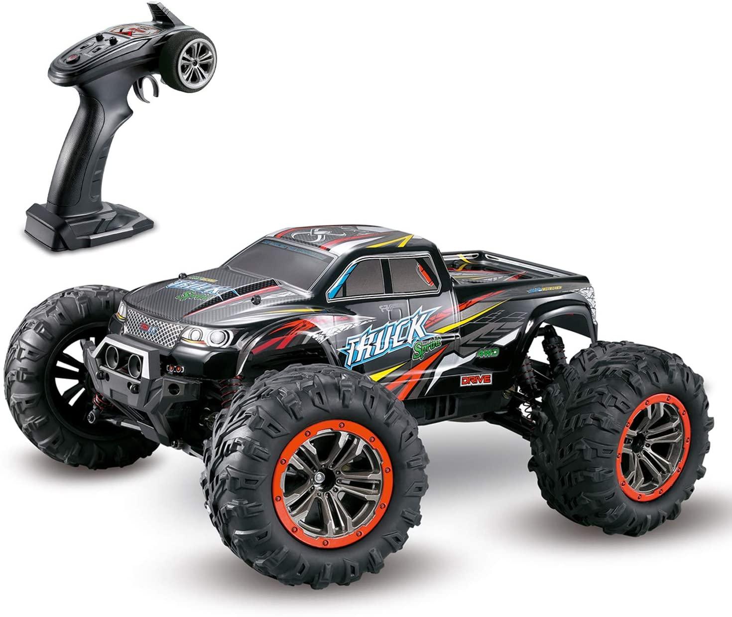 Hosim Remote Control Car, 1:10 Gran Escala RC Buggy Car, Coche de Juguete eléctrico para niños y Adultos (Rojo)