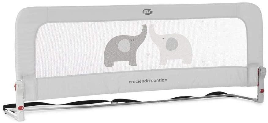 Innovaciones Ms Nido 3016 - Barrera Cama, 50 x 30 x 150 cm, Gris