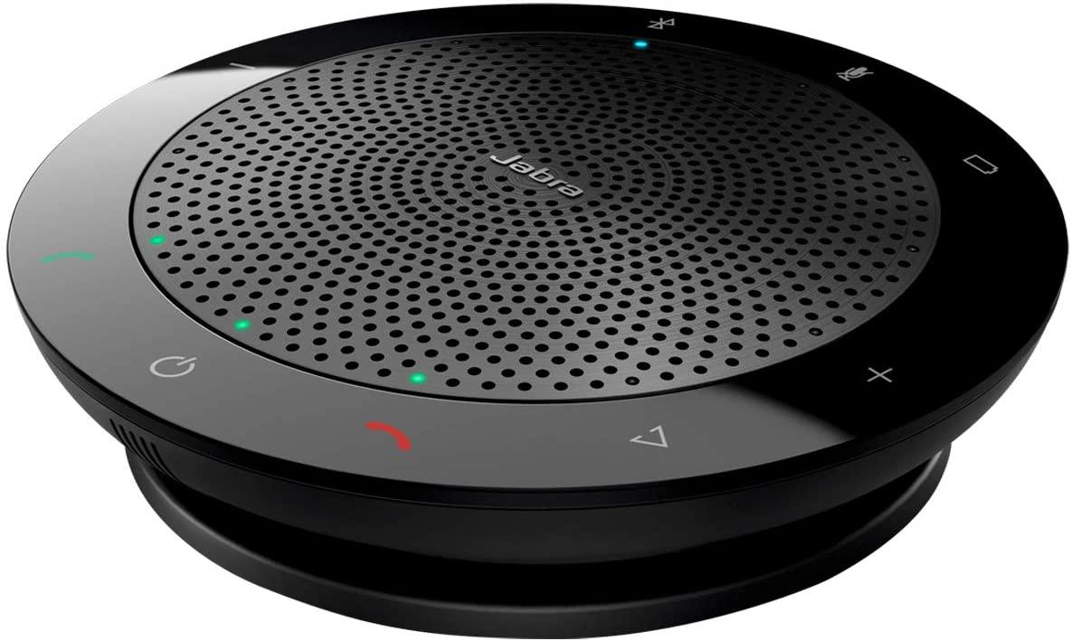 Jabra Speak 510 - Altavoz portátil para conferencias con USB y Bluetooth, compatible con PC, Smartphones y Tabletas