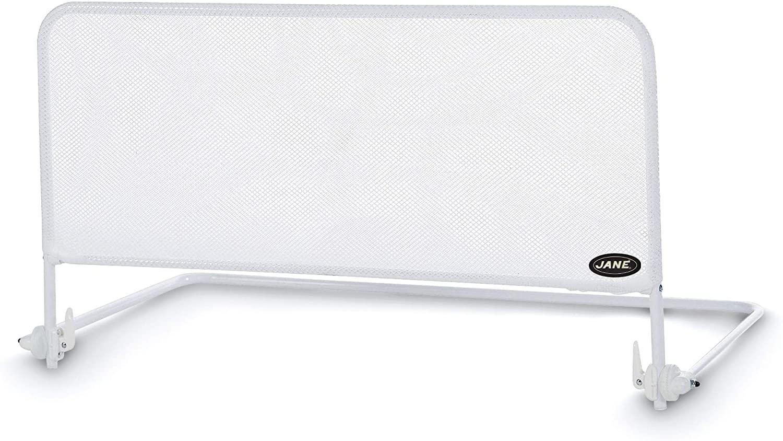 Jané 050208C01 - Barrera de Cama Abatible en Color Blanco, Largo 90 Cm