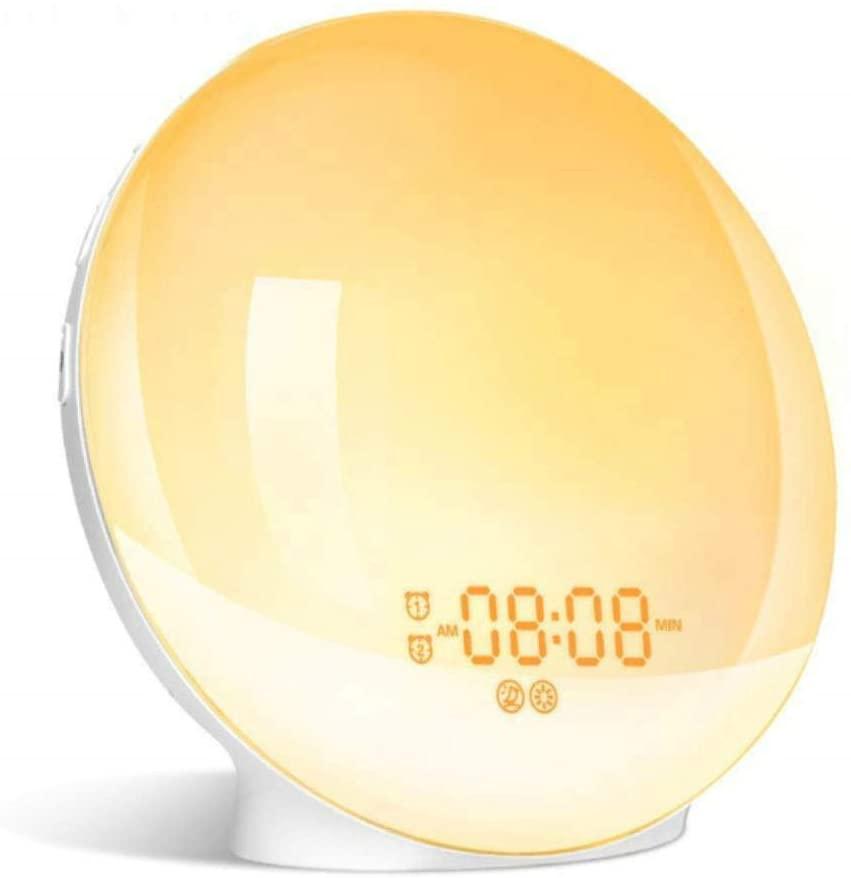 La Naturaleza La Luz De Alarma Del Reloj 2020 Vigilia De La Noche La Luz Del Reloj De Repetición Digitales