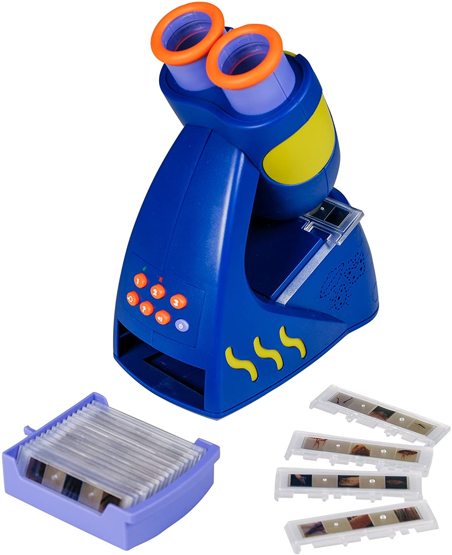Learning Resources Resources-EI-8801 Microscopio Que Habla de Geo Safari Junior, Color (EI-8801)